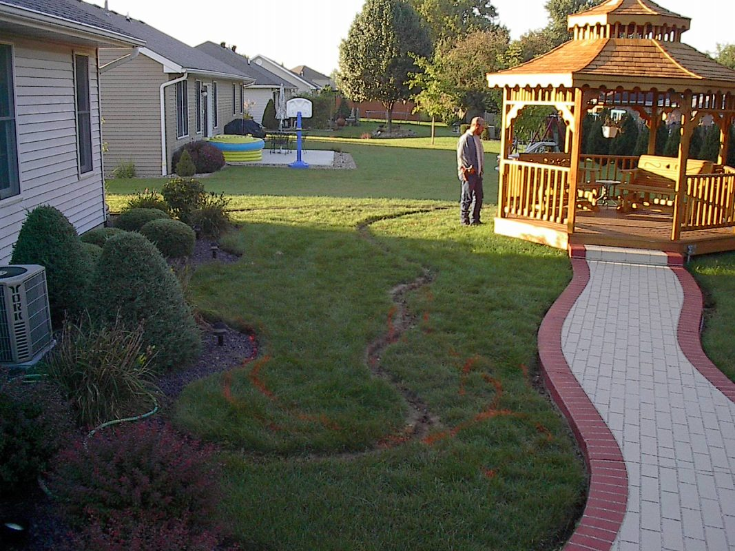 Stone Walls, Patios, Pavers And Hardscaping By Bergman